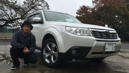 テンション最上級で首都高をドライブしてた豊岡航生!愛車が新しくなりました。SUBARU フォレスター AWD''