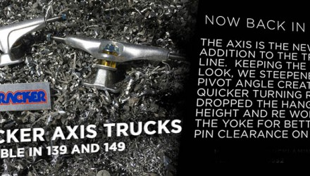 TRACKER AXIS 139 and 149 now in stock